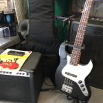 2e main : Ensemble guitare basse Serena + ampli basse Stagg